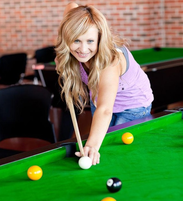 Snooker beauty